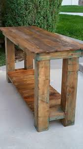 Sofa Table Diy Pallet Console Table End Table Sofa Table 99 Pallets
