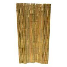 H Bamboo Slate Garden Fence