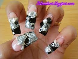 31+ Acrylic Nail Designs Diamonds - Fashion In Pix