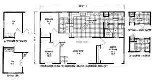50 foot wide ranch house plans awesome 18 foot wide mobile home floor plans