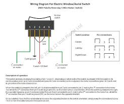 electric window aerial cl switch v a volt planet