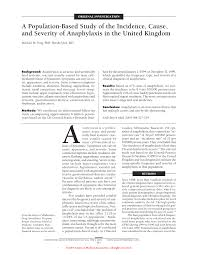 a population based study of the incidence cause and severity of first page pdf preview