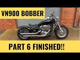 bobber build vn900 vulcan finished