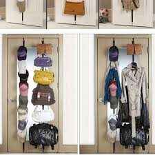 Coat And Bag Rack Adjustable Hanging Straps Over Door Towel Coat Clothes Hat Bag Rack 80