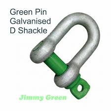 Shackle Weight Chart Green Pin Shackles