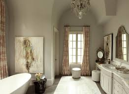 atlanta wall painting styles with traditional curtain rods bathroom and freestanding bathtub sink