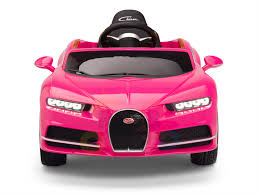 Bugatti chiron pur sport is one expensive toy for the track. Pink Official Bugatti Chiron Kids Ride On Car Kids Vip
