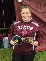 Bismarck State Placers in the Throws - Demons