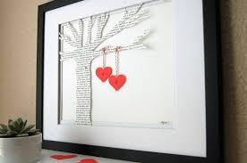 love words a diy wedding anniversary gift