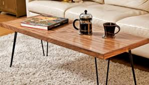hairpin legs coffee table diy metal