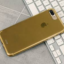 iphone 8 gold. olixar flexishield iphone 8 plus / 7 gel case - gold iphone