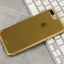 iphone 8 gold. olixar flexishield iphone 8 plus / 7 gel case - gold iphone