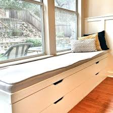 how to build a bench seat with storage medium size of window seat storage bench plans