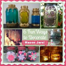 How To Decorate Canning Jars 100 Fun Ways to Decorate Mason Jars Decorate Pretty Mason Jars 57