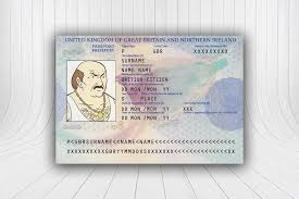 Id Template Wickybay Own Make Uk Your - Fake Passport