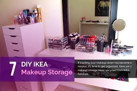 diy makeup brush holder ideas storage box 7 made with furniture engaging beauty ass