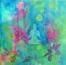 and now that you don t have to be perfect you can be buddha flowerabstract acrylic paintingspaintings