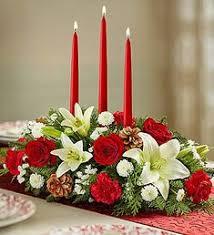 Image result for christmas flower arrangements