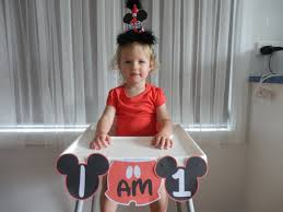 how to make a diy mickey mouse high chair banner with free mickey mouse highchair banner