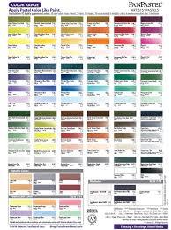 Color Chart Paint Draw Blend