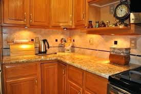 Kitchen Backsplash With Granite Countertops Extraordinary Kitchen Countertop And Backsplash Ideas Kitchen Granite And Ideas R