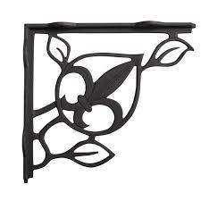 french quarter cast iron shelf bracket