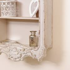 cream wall shelf country wall shelf