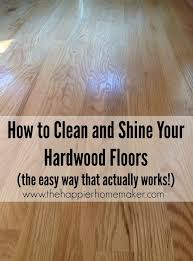 How To Clean Shine Hardwood Floors
