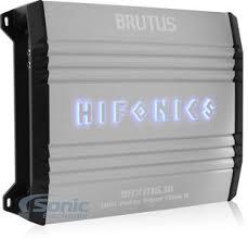 hifonics brutus brx1116 1d 1100 watt monoblock brutus series super zoom