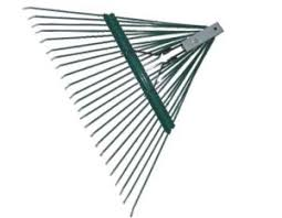 metal leaf rake. heavy duty metal leaf garden rake tool r