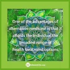 one of the advantages of alternative medicine is that it affords one of the advantages of alternative medicine is that it affords the individual the broadest range of health treatment options
