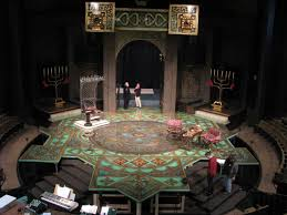 Beautiful Set Design The Beautiful Set Of Camelot Stratford 2011 Designer Is