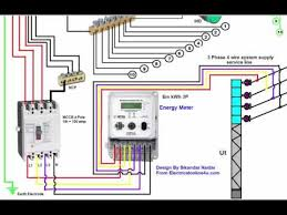 three phase panel board wiring 3 phase wiring installation in house 3 phase distribution board diagram urdu hindi