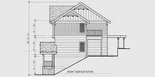 awesome house plans for rear view lots 5 rear view house plans wide lot house plans australia sea