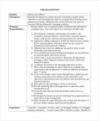 Beauteous Commercial Loan Officer Jobs 25 Excellent Resume Samples