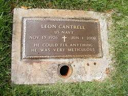 Leon Cantrell (1926-2009) - Find A Grave Memorial