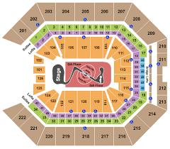 Tso Concert Tickets Seating Chart Golden 1 Center
