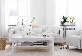 White Living Room Furniture Sets Living Room Cozy White Living Room Ideas With Nice Lighting
