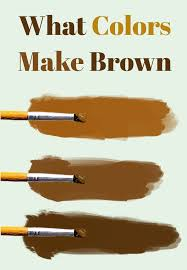 essential guide to mixing brown paint