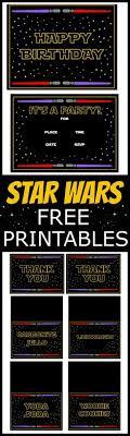 Star Wars Birthday Invitations Printable Star Wars Free Printables Star Wars Birthday Party It Is
