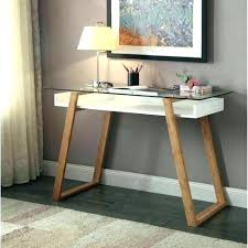 glass top trestle desk office table medium size of black computer with legs glass top trestle desk side table