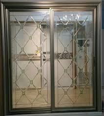 decorative glass panels in french door wooden door images