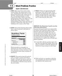 sweet 2 4 practice writing linear equations glencoe algebra answer key and graphing worksheet answers p