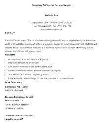 New Teacher Resume Examples Resume Examples Educational Resume ...