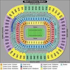 Interactive Map Of Bank Of America Stadium