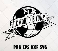 the world is yours svg globe svg