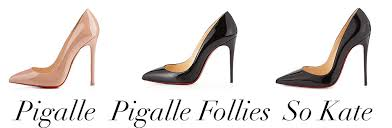 Christian Louboutin Heel Height Chart Whats The Difference Christian Louboutins Pigalle