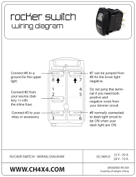carling contura rocker switches explained the hull truth with marine 6 pin rocker switch wiring diagram at 6 Pin Switch Wiring Diagram