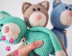 Free Crochet Cat Patterns Mesmerizing Crochet A Cat Free Crochet Pattern Yarnplaza For Knitting