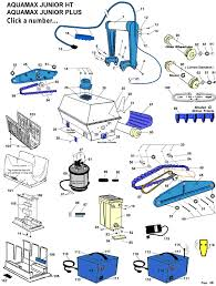 aquamax jr parts